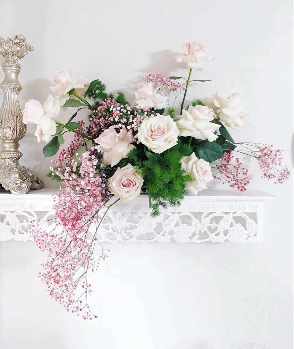 Buy Pink Filler Babys Breath Flower In 2020 Babys Breath Online Wedding Flowers Babys Breath Flowers