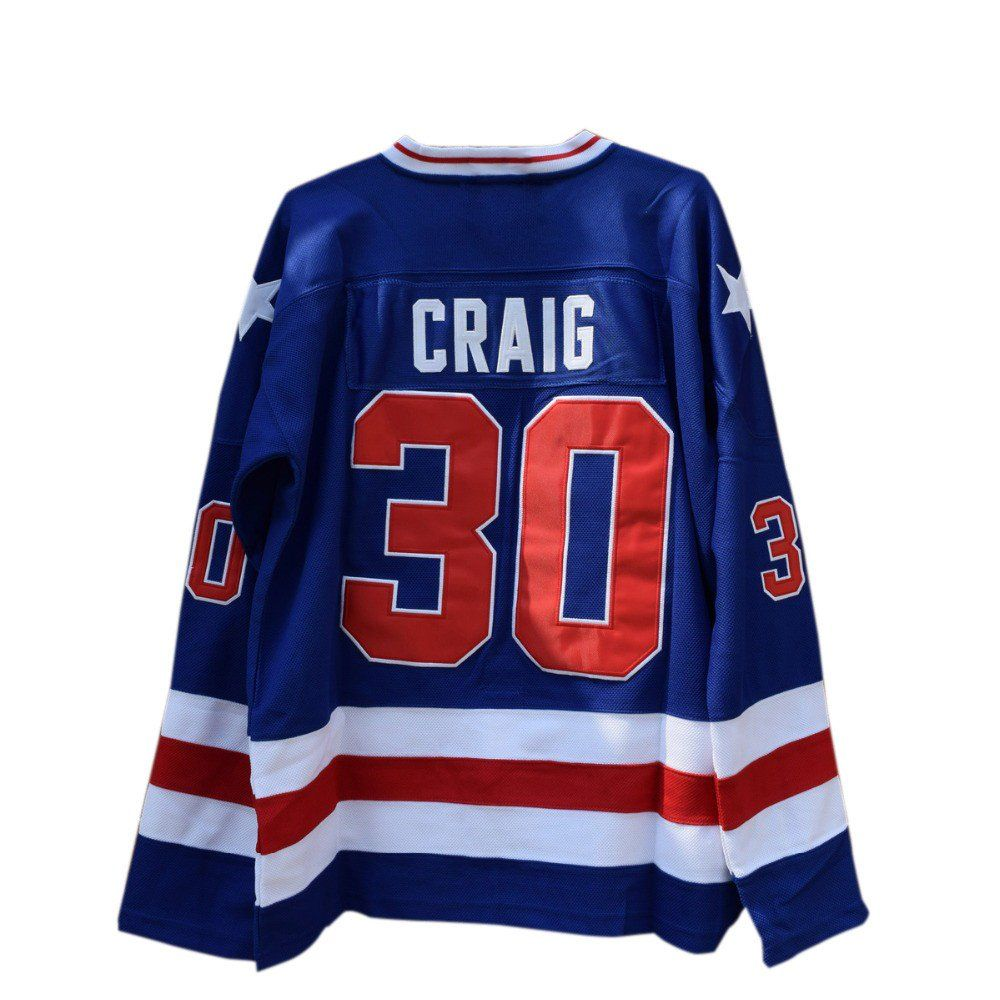 Jim Craig  30 Miracle on Ice Hockey jersey  9e152af95