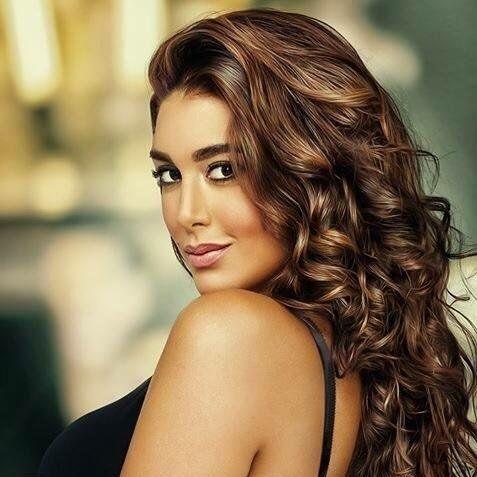 Yasmin Sabry Egyptian Actress Beauty Hair Styles