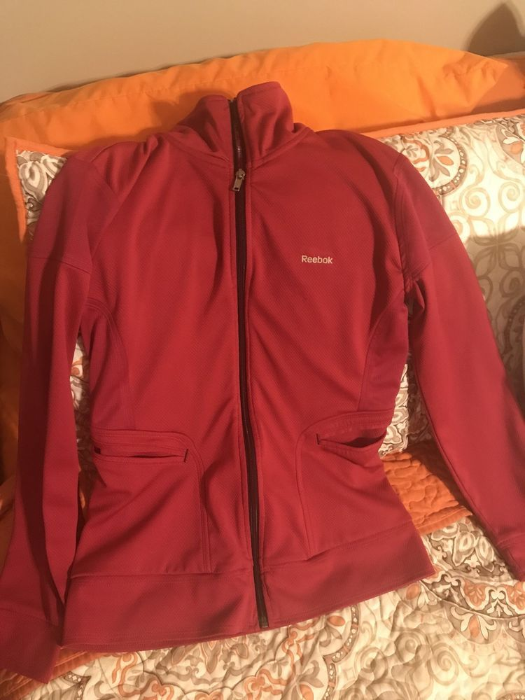 1e01c8bc6b4 Womens Reebok Full Zip Up Track Jacket Size Small  fashion  clothing  shoes   accessories  womensclothing  activewear (ebay link)