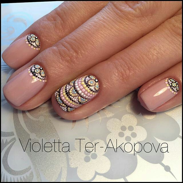 Pin by on dots nail art pinterest manicure im in love with these intricate dotted nail art designs prinsesfo Choice Image