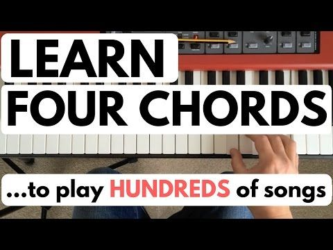 Piano Chords For Beginners Learn Four Chords To Play Hundreds Of