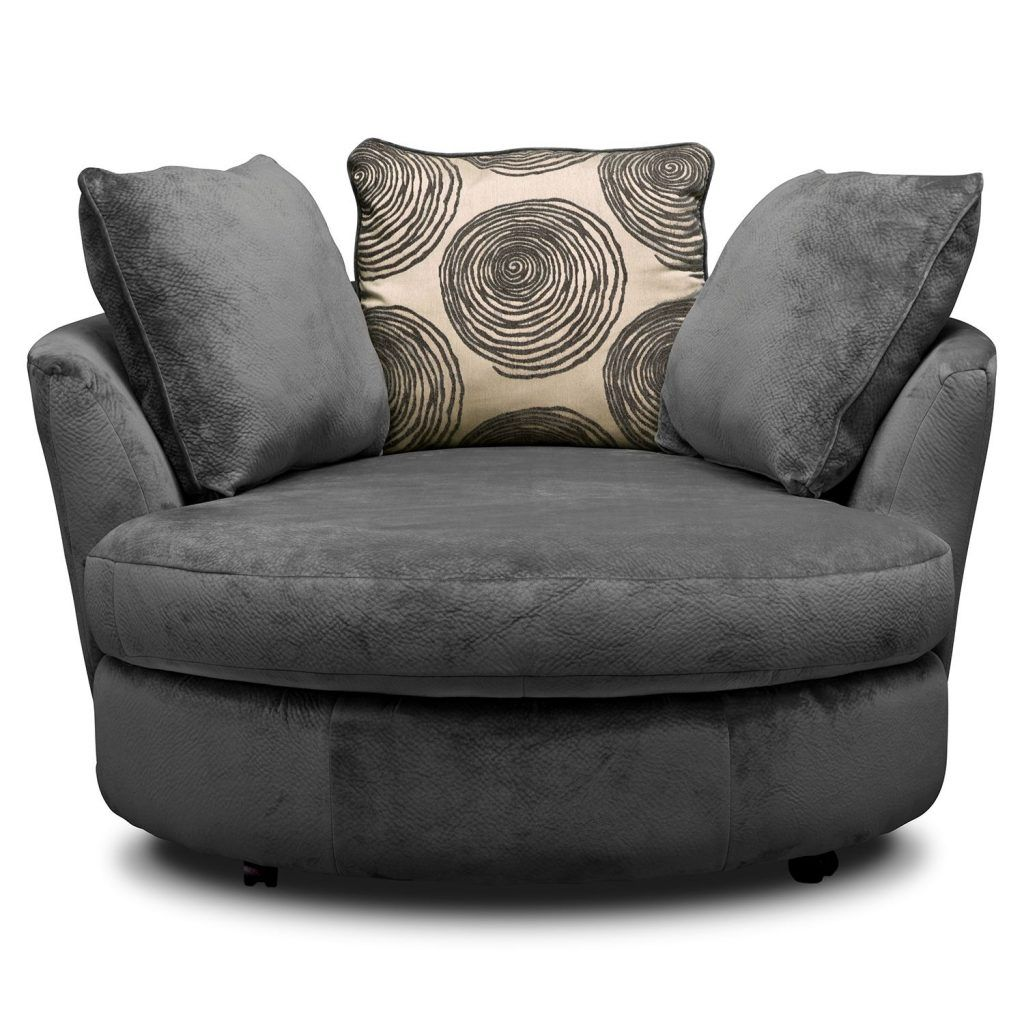 Large Round Living Room Chairs Round Swivel Chair Lounge Chair
