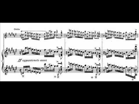 Berman plays Liszt - Dante Sonata Audio + Sheet music