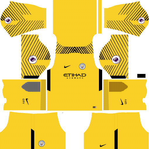 Dream League Soccer Manchester City Kits 2018 19 With Logo And Url In 2020 Manchester City Soccer Kits Soccer