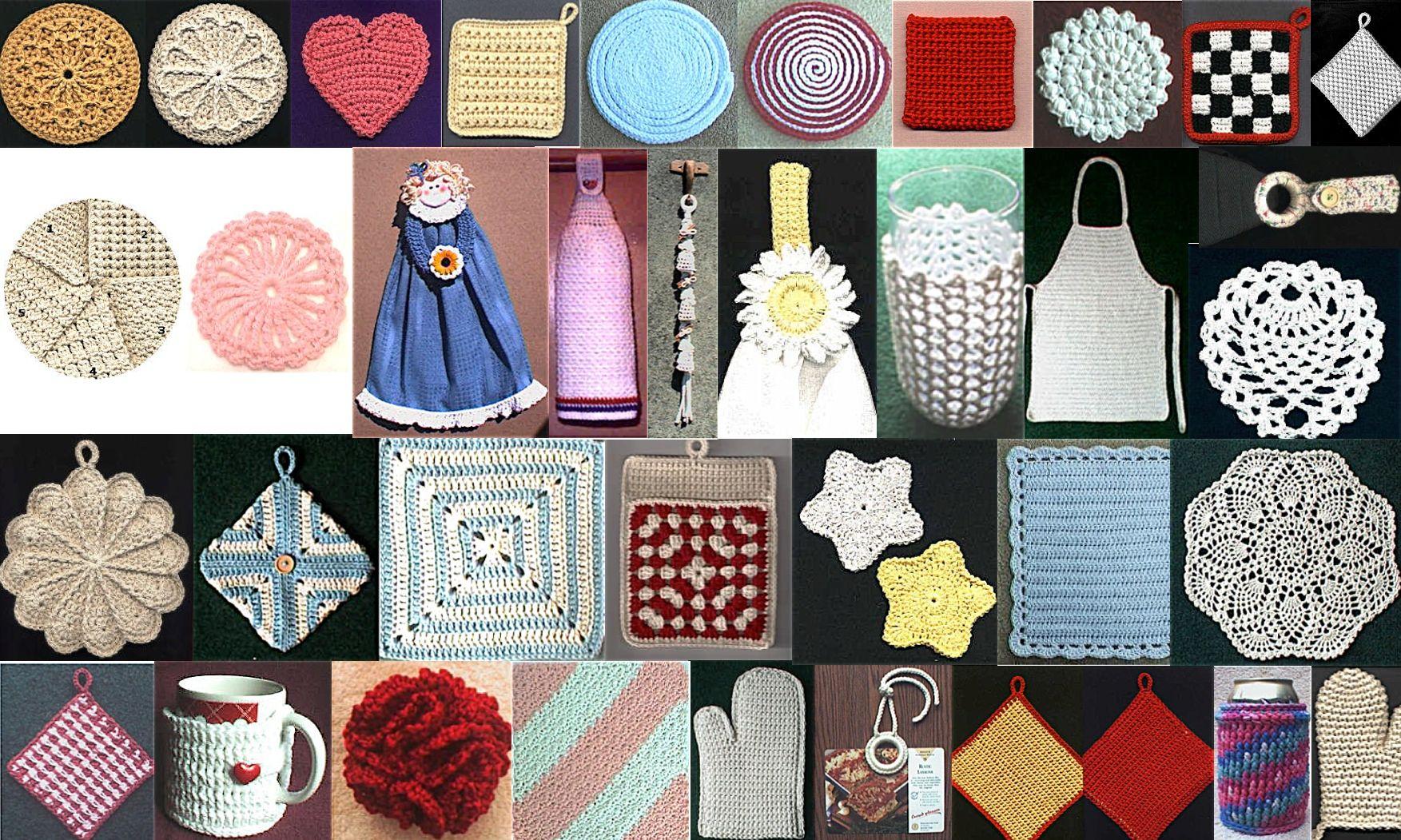Crochet tutorials from Priscilla Hewitt / verschiedene ...
