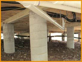 Pier and beam foundation repair plano tx for the home for How to build a post and pier foundation