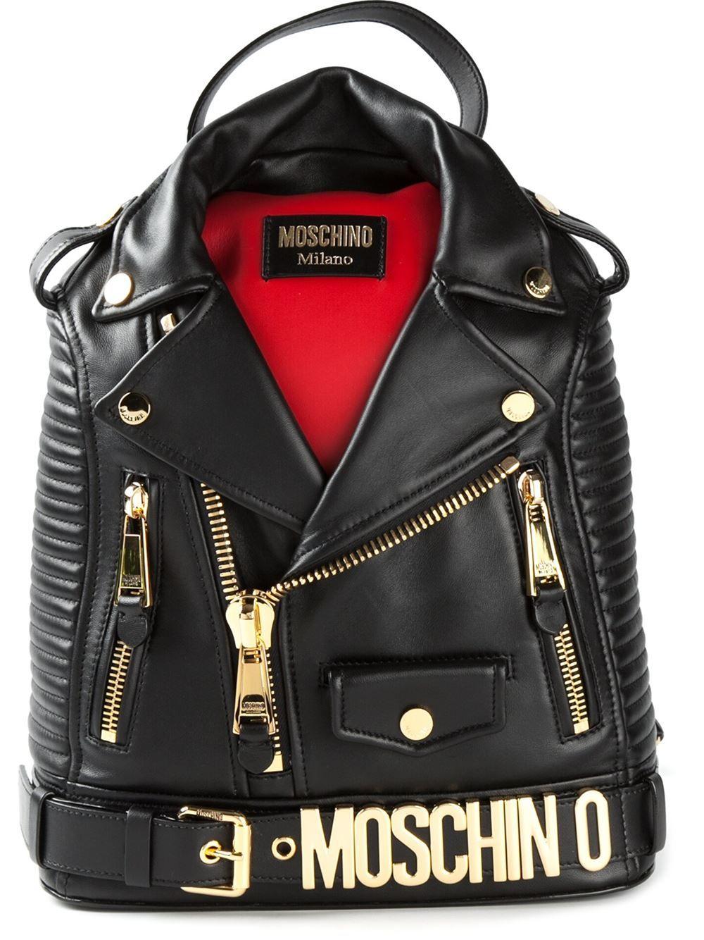 960ee785ef9 Moschino Mochila De Couro - Stefania Mode - Farfetch.com