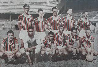 Telê na equipe do Fluminense tetracampeã carioca juvenil de 1950: em pé, Milton, Nicola, Telê, Jorge Henrique e Quincas; agachados,  Getúlio, Adalberto, Batatais, Odir, Emilson e Chiquinho.