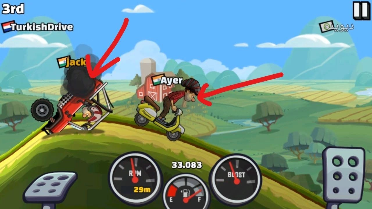 Hill climb race 2 how to upgrade your super diesel truck for easy wins hill climb racing 2 pinterest