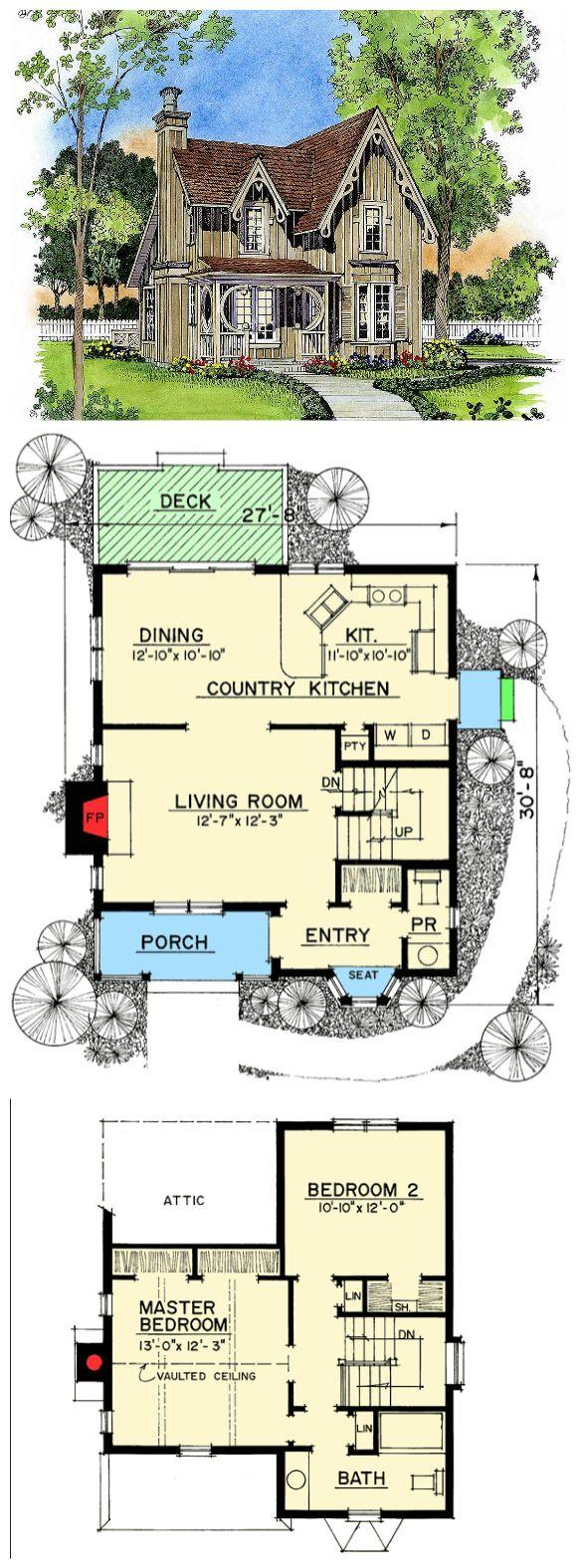 Plan 43044pf Gothic Revival Gem In 2021 Gothic Mansion Dream House Plans Gothic Kitchen
