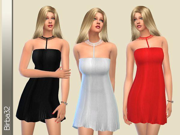 Birba32's Collar lace night gown