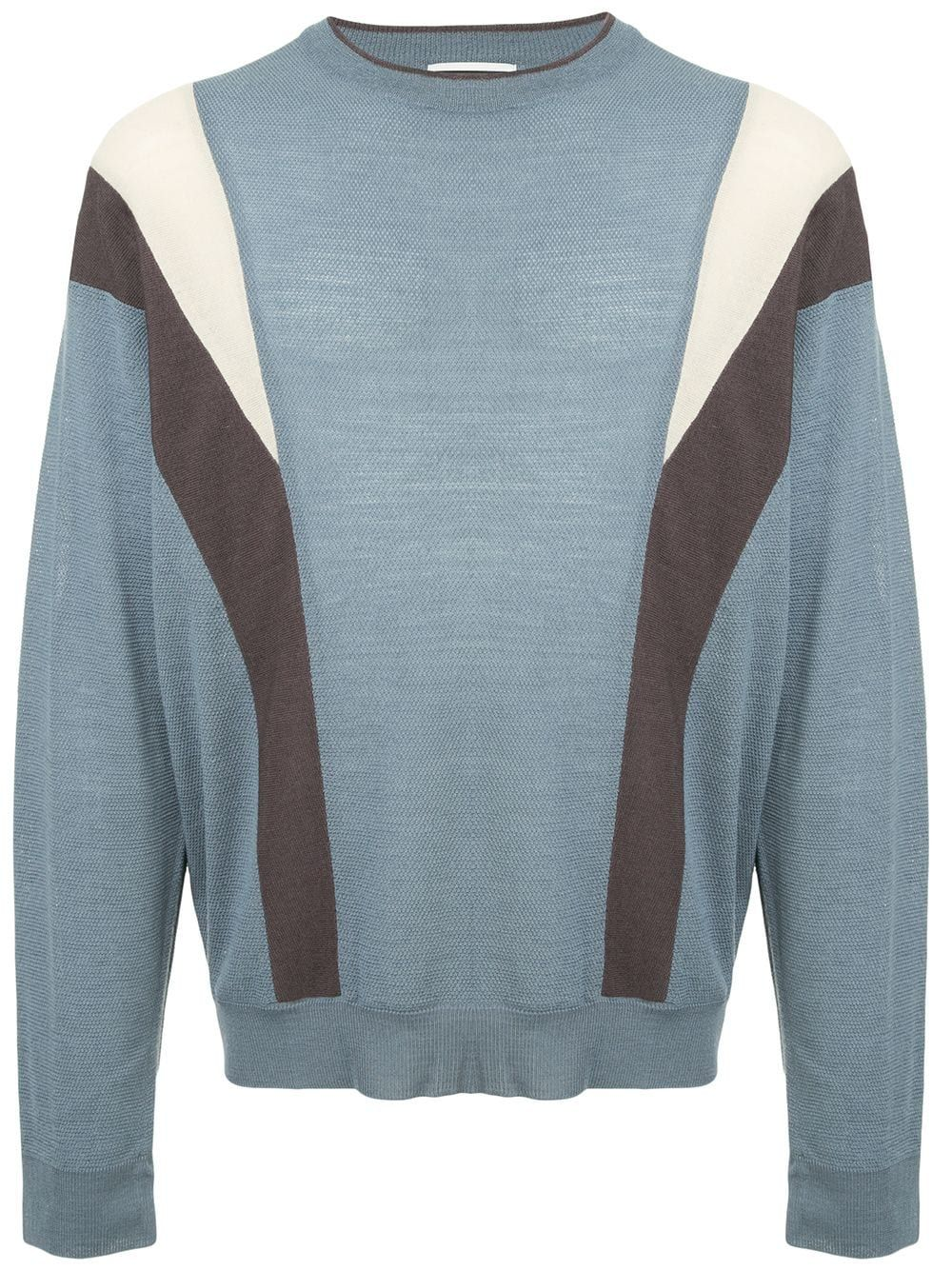 5c0440bfc9 WOOYOUNGMI WOOYOUNGMI PANELLED SWEATER - BLUE. #wooyoungmi #cloth ...