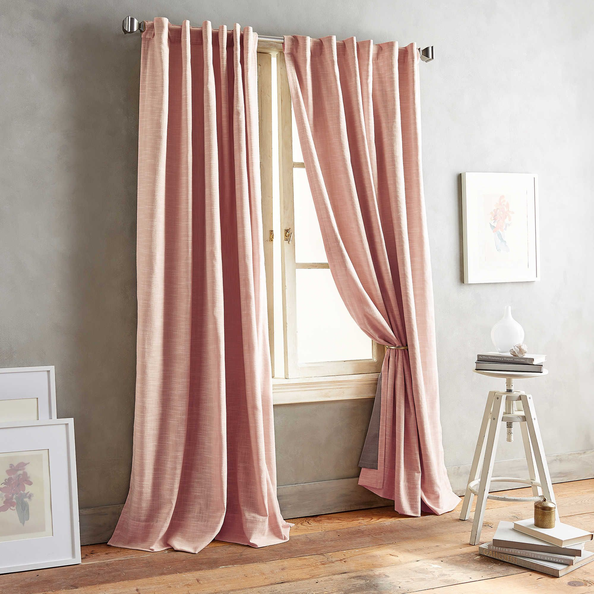 Window treatment ideas for 3 windows in a row  pdp main image  master bedroom  pinterest  window curtains