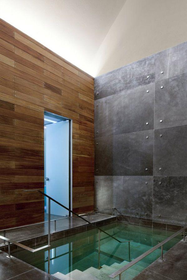 Mit allen Wassern gewaschen zeitgenössische Spa- und - Spa Und Wellness Zentren Kreative Architektur