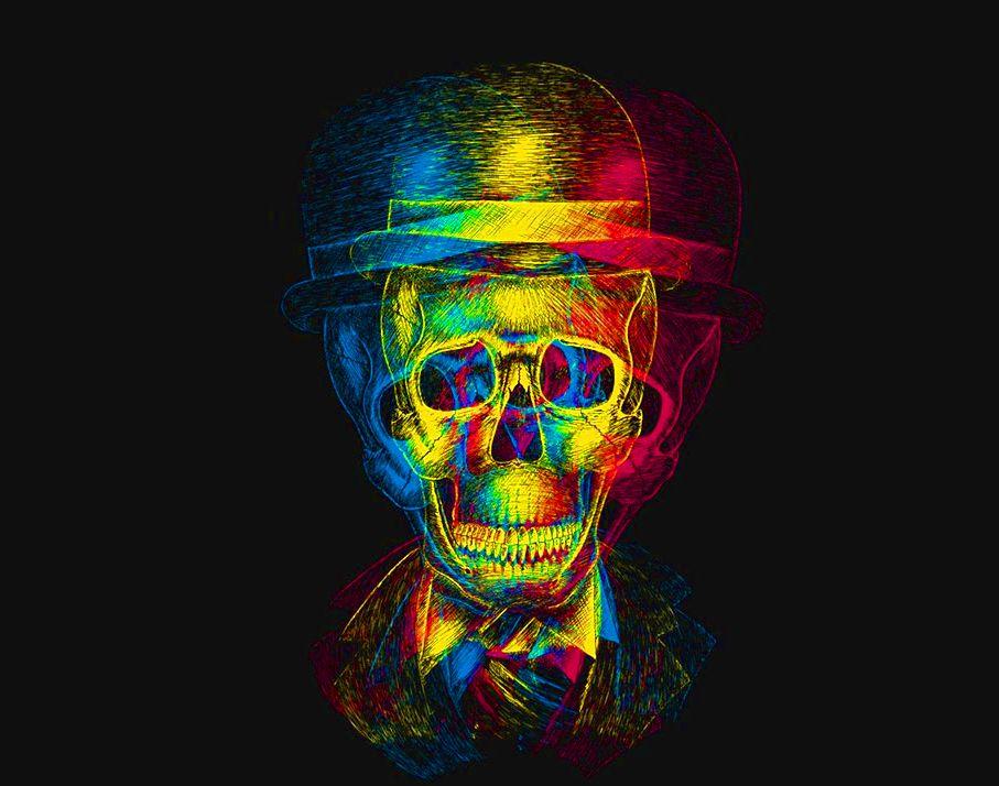 Cool Abstract Hd Wallpapers Skull Wallpaper Skull Art
