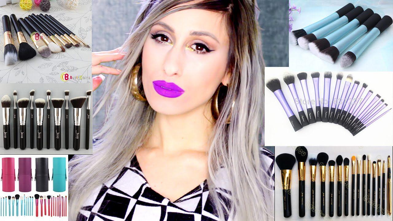 BEST & WORST eBay Cheap Makeup BRUSHES // Reviews