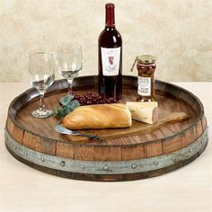 Large Lazy Susan Enchanting Reclaimed Wine Barrel Large Lazy Susan  Wine Barrel Lazy Susan Review