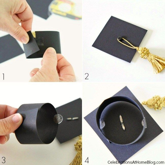 Relatively DIY Graduation Cap Bottle Toppers | Cap, Bottle and Celebrations GU86
