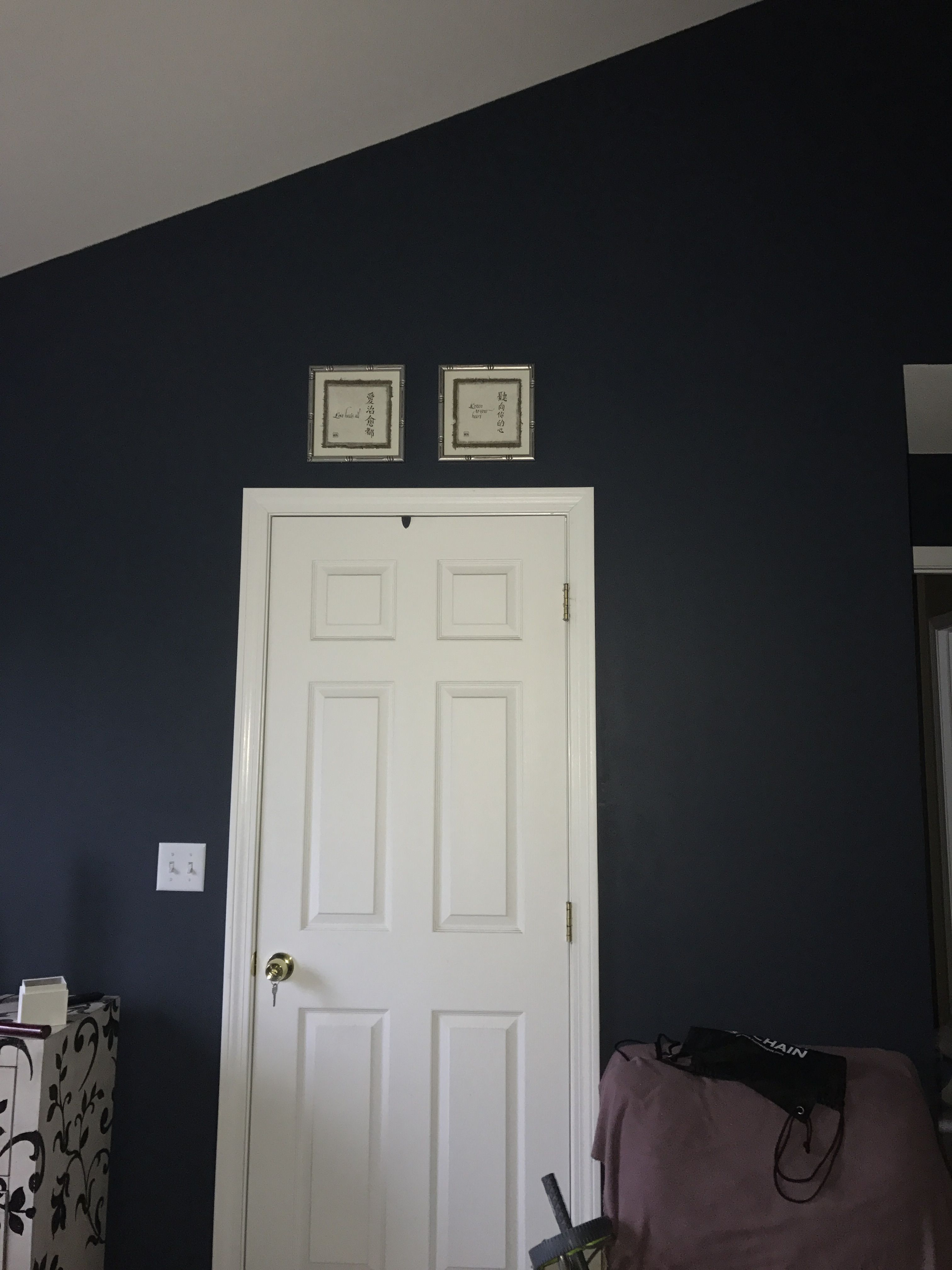 Midnight Blue Behr Paint Love It Colors Bedroom House Remodeling