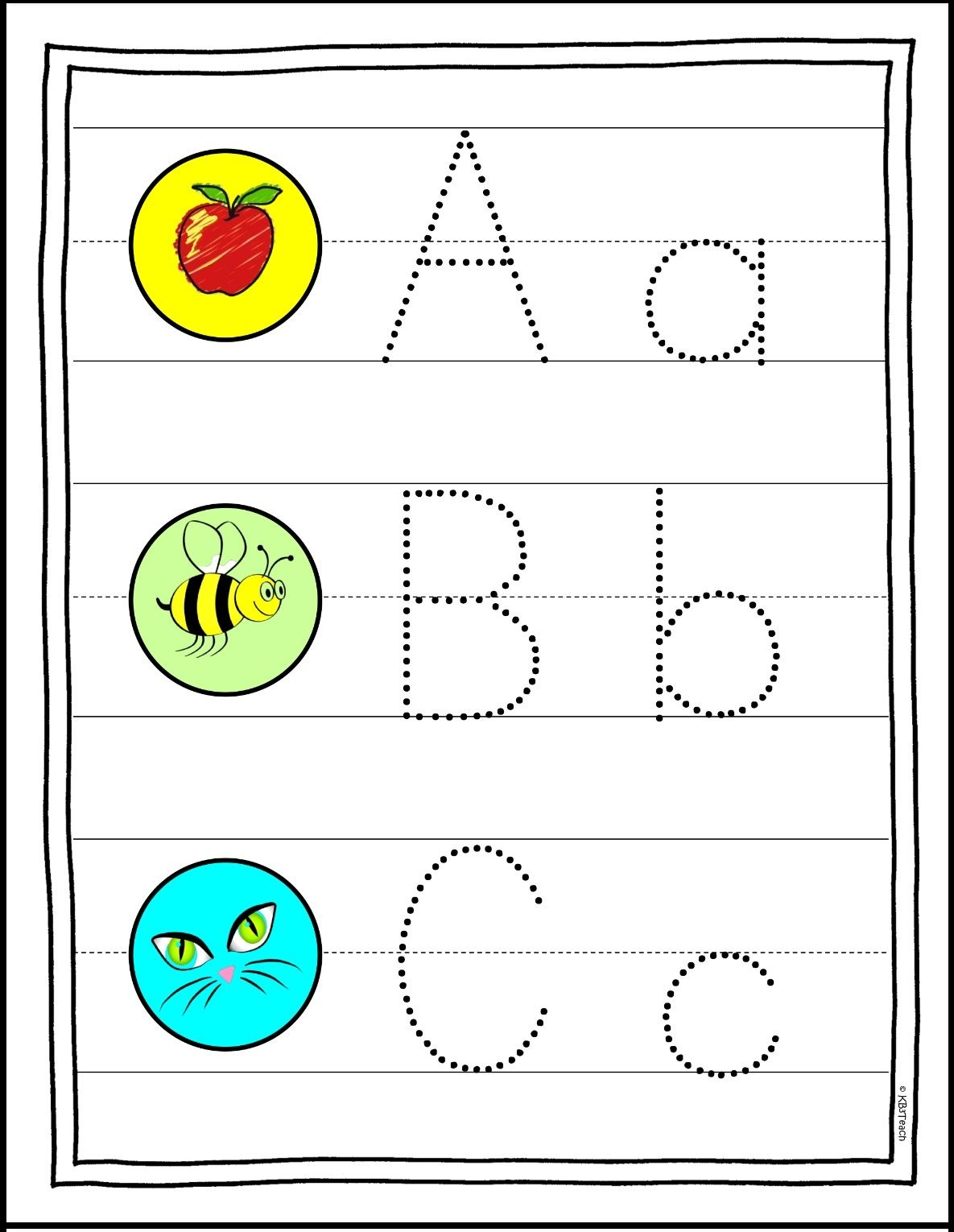 Learn The Alphabet Write Amp Wipe Tracing Cards