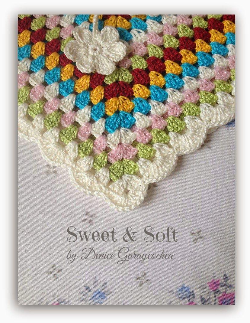 La Magia del Crochet: PONCHO DE PRIMAVERA