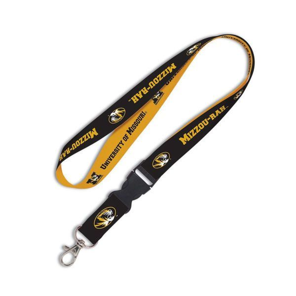 Missouri Tigers WinCraft Mizzou-Rah Lanyard with Detachable Buckle