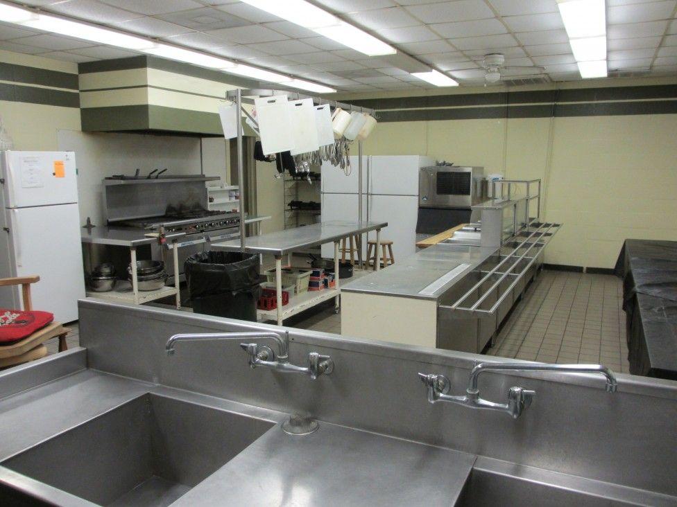 Inspiring Industrial Kitchen Kickapoo Ranch Retreat Center Industrial Kitchen Cabinet Hardware Kitchen Industrial Kitchen Garbage Disposal