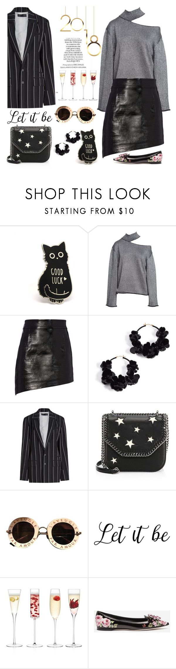 """""""Champagne brunches"""" by pensivepeacock ❤ liked on Polyvore featuring Helmut Lang, Oscar de la Renta, Haider Ackermann, STELLA McCARTNEY, Gucci, LSA International and Dolce&Gabbana"""