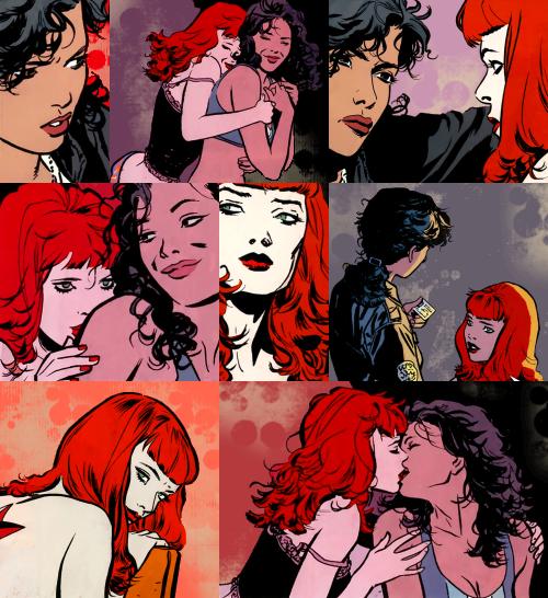 batwoman e renee montoya | Quadrinhos, Vilãs, Herois