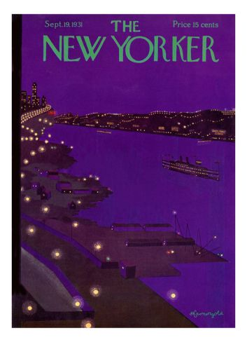 The New Yorker Cover - September 19, 1931 Premium Giclee Print by Adolph K. Kronengold at Art.com