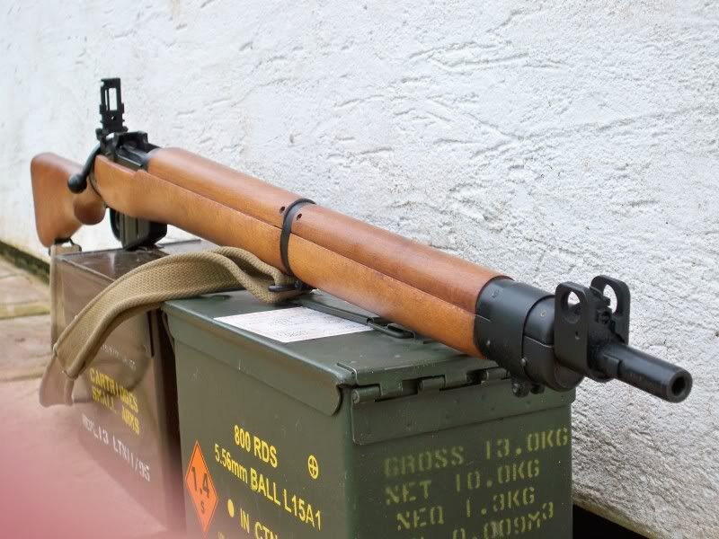 Lee Enfield No 4 Mk 2, Fazakarley produced in 1955  UF batch