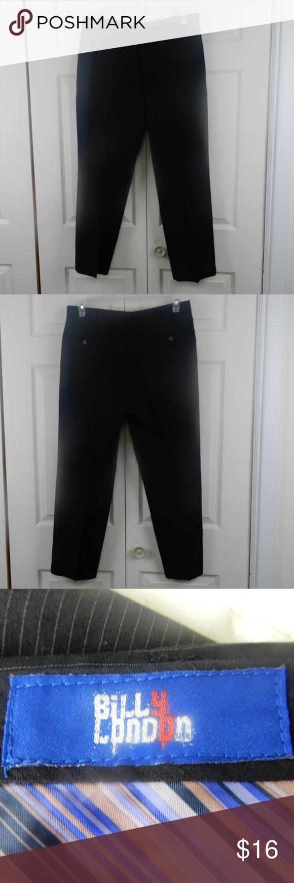 93d4567f Mens Black Dress Pants 30 X 34 - raveitsafe