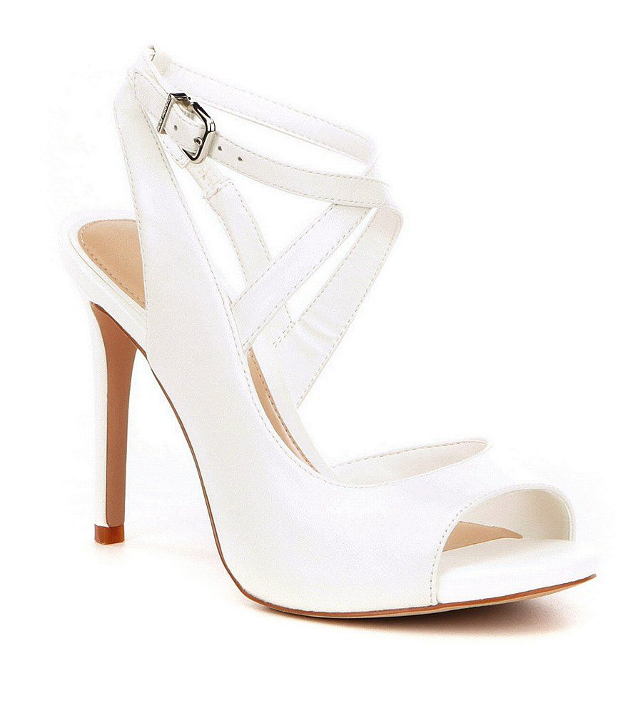 2fa11265c73 Aminaa Leather Criss Cross Ankle Strap Dress Sandals at Dillards.com. Visit  Dillards.com to find clothing