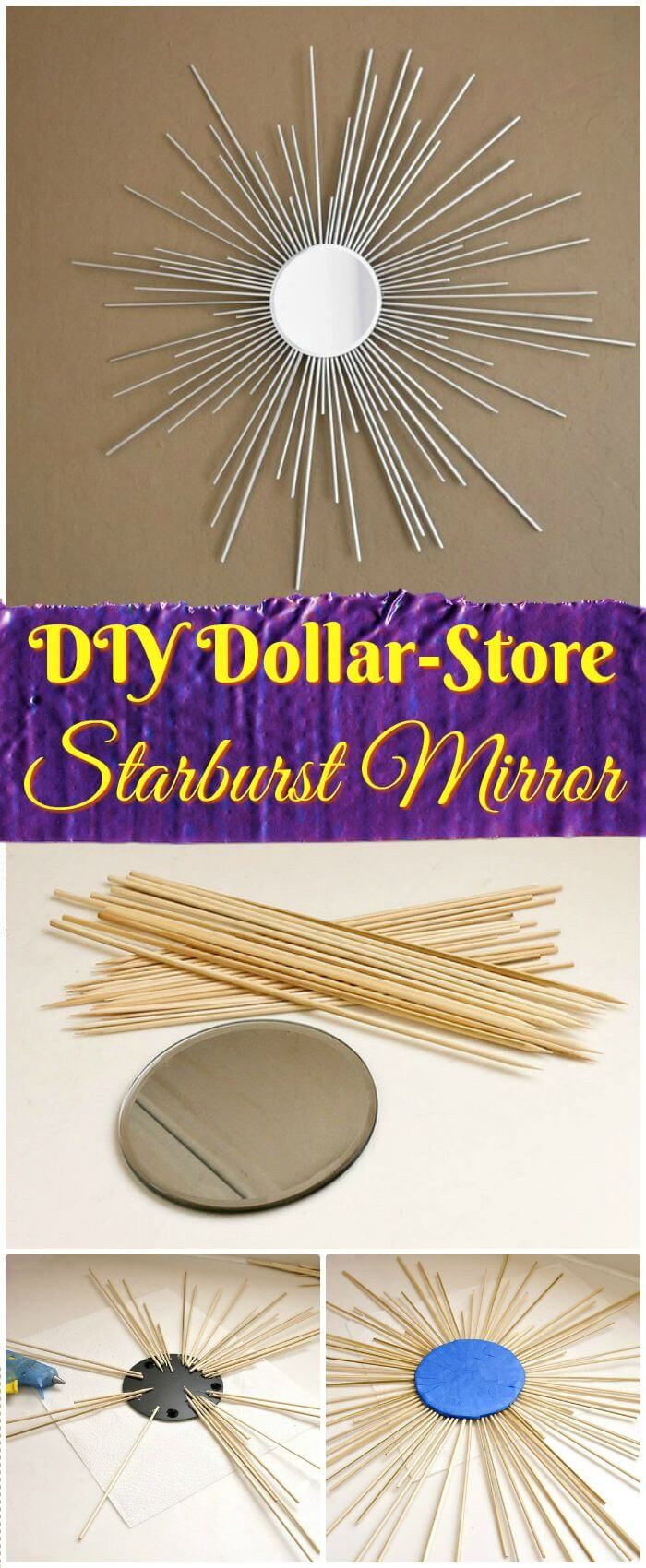 200 Cheap And Easy Dollar Store Crafts That You Can Diy 200 Cheap And Easy Dollar Store Crafts That You can DIY Diy Home and Decorations diy home decor crafts