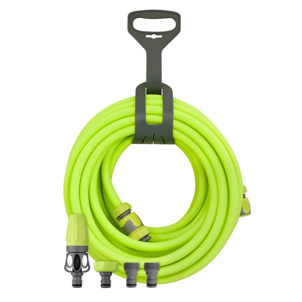 Legacy Flexzilla Garden Hose Kit W Quick Connect Nozzle