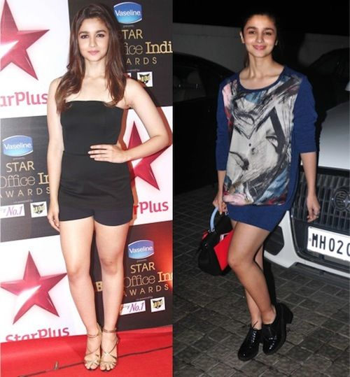 Keep It Simple - You dont always need makeup, Alia shows this in the best way.