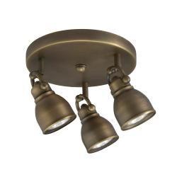 Bronze 3 light flush mount light fixture overstock shopping bronze 3 light flush mount light fixture overstock shopping great deals aloadofball Image collections