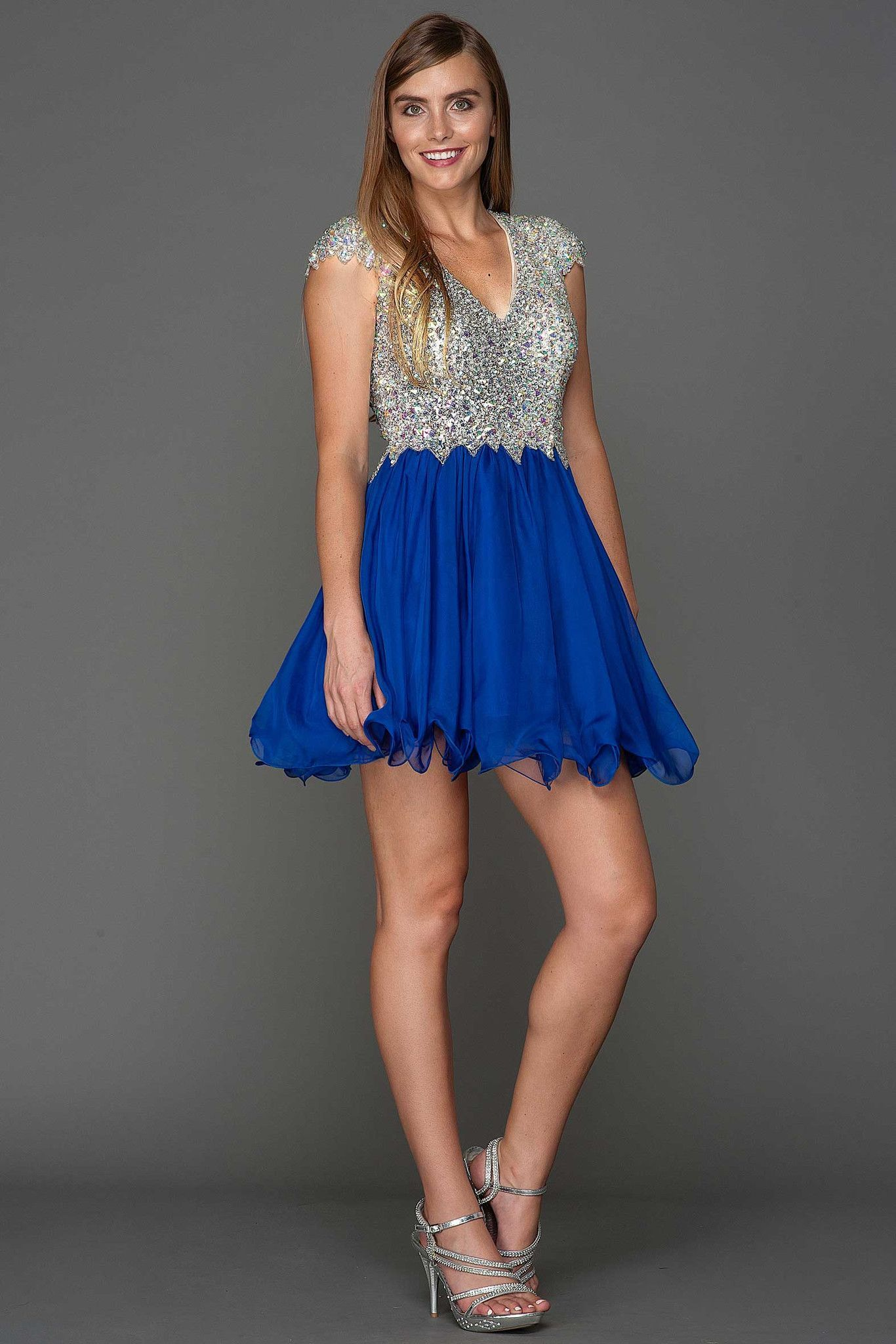 Short prom dress with fully beaded bodice products pinterest