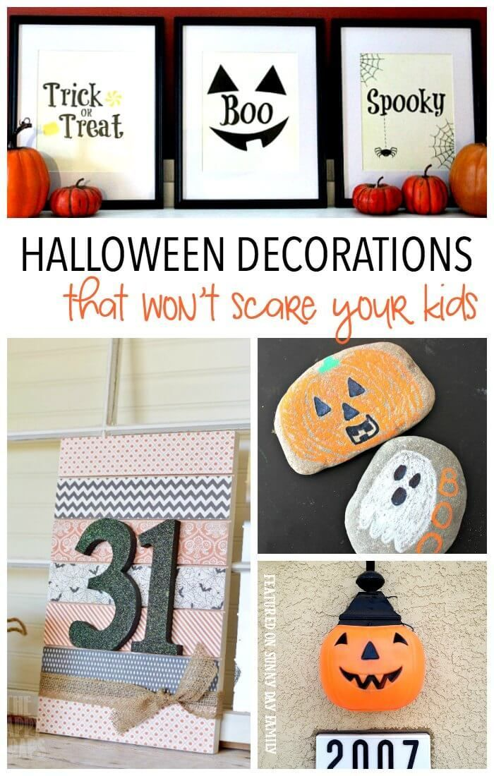 20+ Kid Friendly Halloween Decorations Halloween house, Craft and - cute halloween diy decorations
