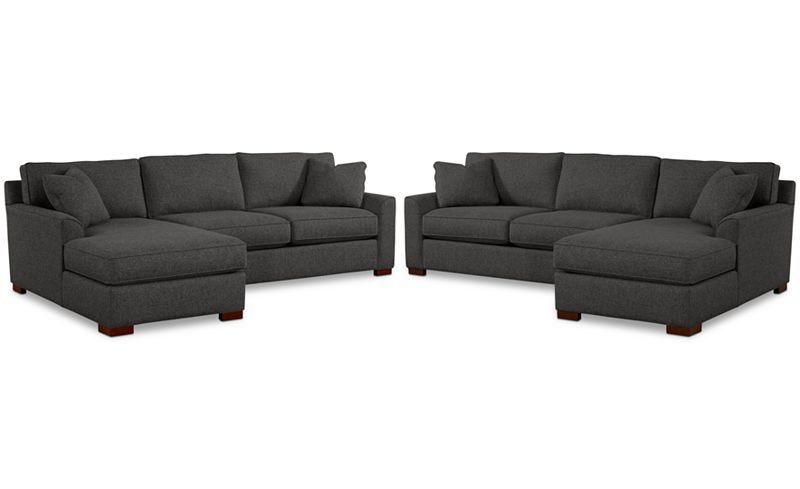 Furniture Closeout Carena 2 Pc Fabric Chaise Sectional Sofa Created For Macy S Reviews Furniture Macy S Macy Furniture Fabric Sectional Sectional Sofa