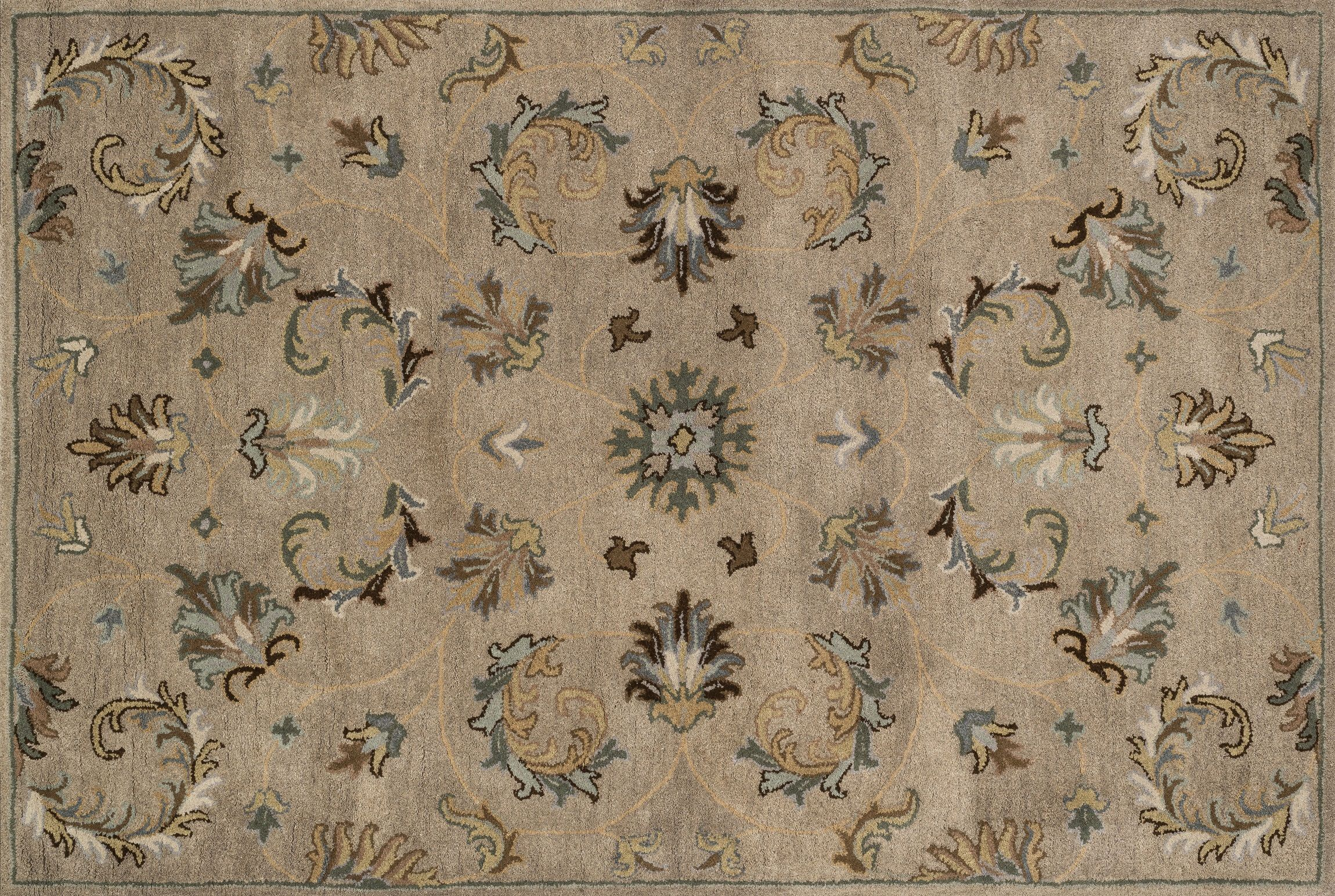 recaro north Loloi Rugs Fairfield Collection Traditional Area Rug 5-feet by 7- feet 6- Inch,