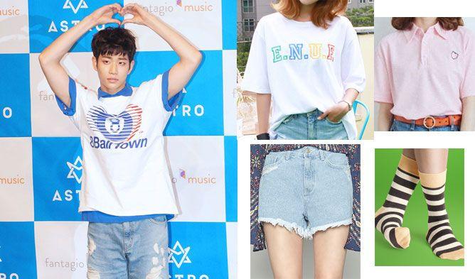 Korean Fashion Kpop Fashion Astro Fashion Kpop Idol Fashion Kpop Couple Look Korean Couple L Korean Fashion Women Dresses Korean Fashion Kpop Kpop Fashion
