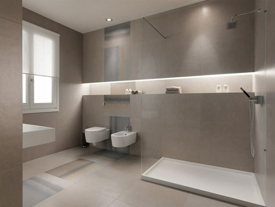 strenges Design saubere Art matter Effekt Badezimmer Fliesen - fliesen für badezimmer