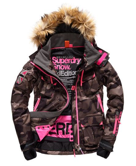 17c3d7c688 Superdry Ultimate Snow Service Ski Jacket