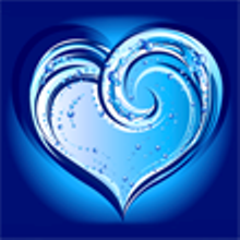 If I were to ever get a tattoo, ocean wave heart