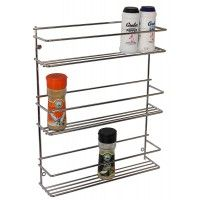 Spice Rack 3 Tier Stainless Steel 6108 Kitchen Fittings