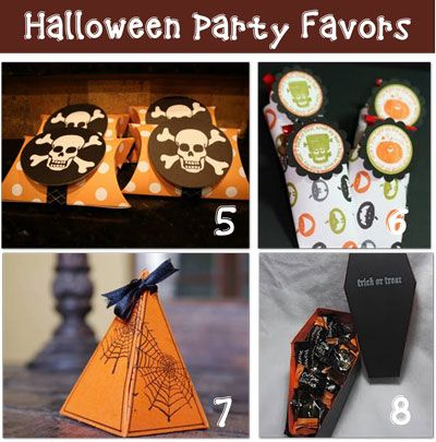 Make some great Halloween Party Favors @Optivion #Crafts