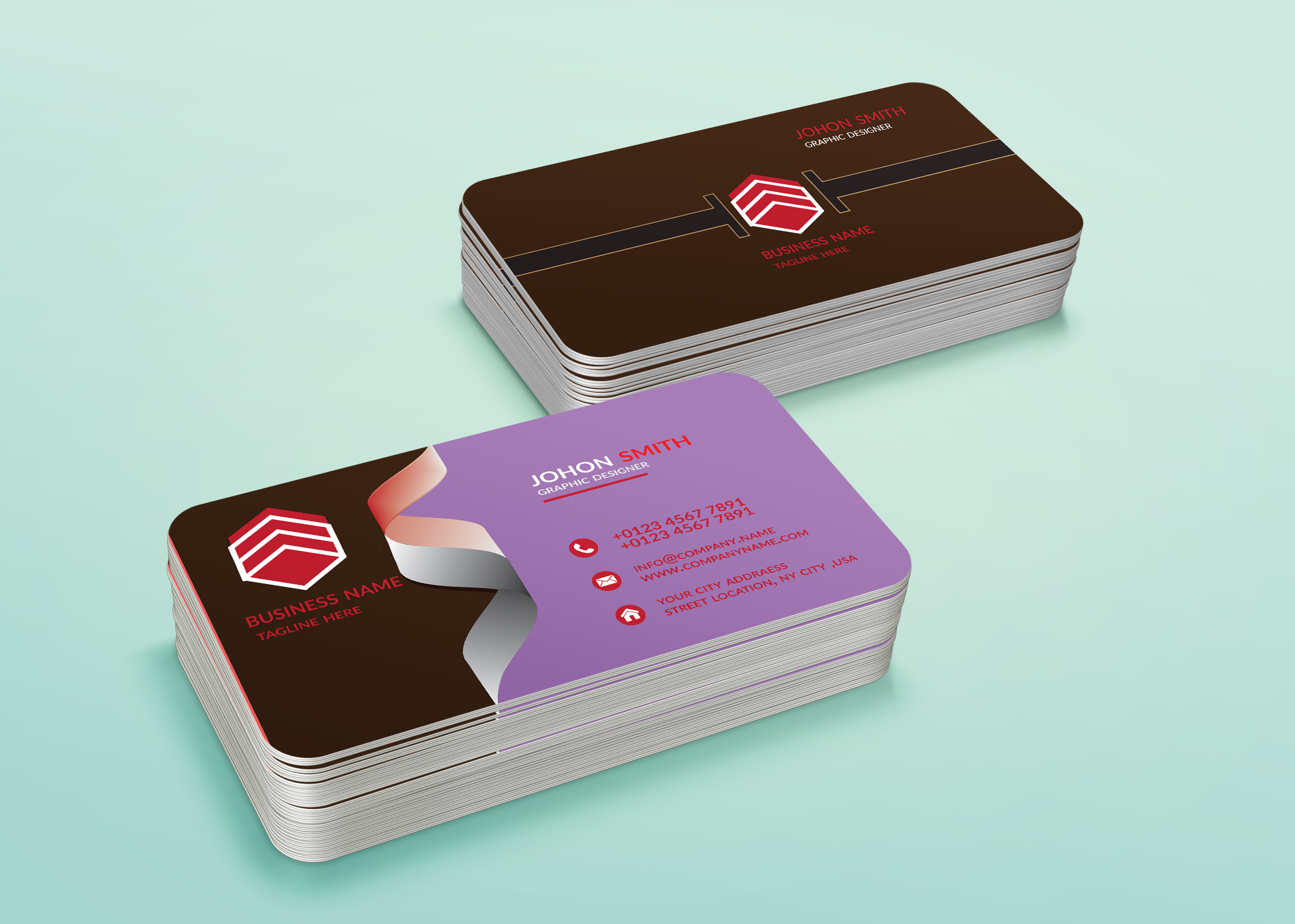 Ibrahim7234 I Will Design A Business Card With An Attractive Design For 5 On Fiverr Com In 2021 Business Cards Moo Business Cards Cheap Business Cards