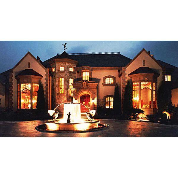 Great Gatsby Mediterranean Italian Luxury Home Villa: American Traditional Luxury Dream House Plans Great Gatsby